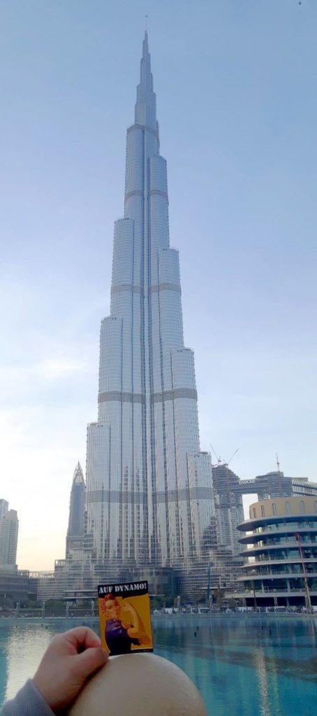 Burj Khalifa in Dubai, VAE