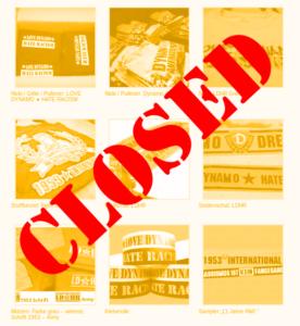 OnlineShop ab 28.06.2017 vorübergehend geschlossen!