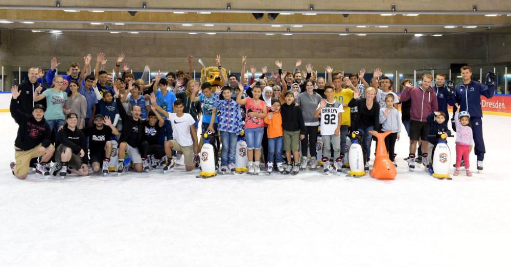 Eishockeyfans für Toleranz